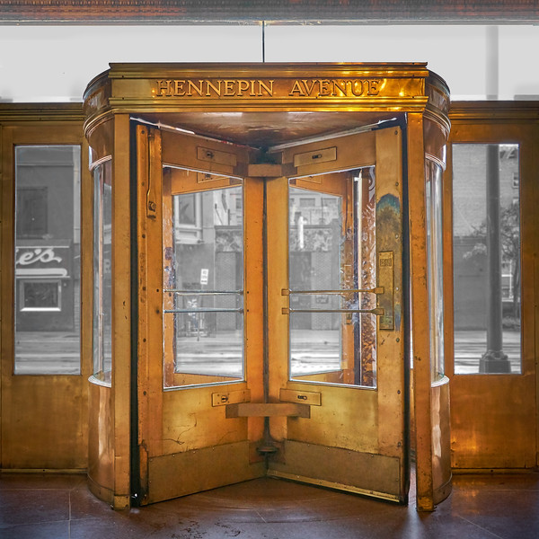 Hennepin Avenue door, Lumber Exchange Building, Minneapolis
