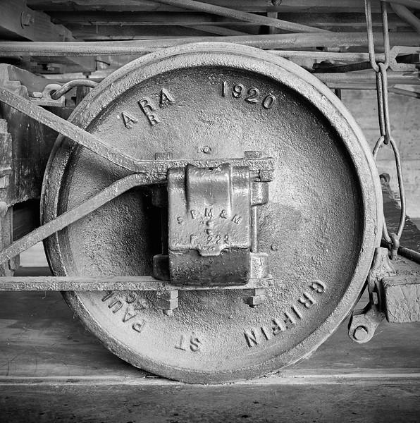Boxcar Wheel