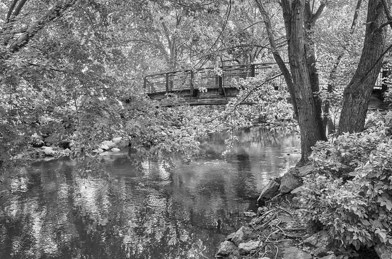 Bridge over Minnehaha Creek