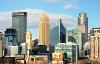 Minneapolis city skyline