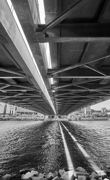 Under The Hennepin Avenue Bridge