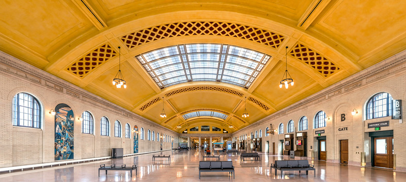 Waiting Room - Saint Paul Union Depot