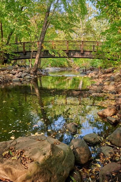 Bridge over Minnehaha Creek in Minneapolis