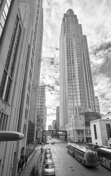 Wells Fargo Center in Minneapolis