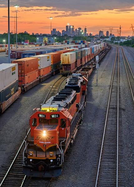 Minneapolis Saint Paul Rail Yard
