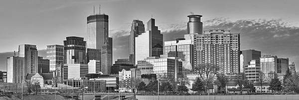 Minnepolis, Minnesota skyline