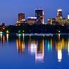 Minneapolis Skyline from Lake Calhoun