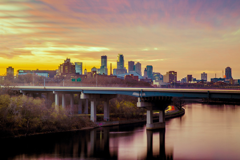 Minneapolis Sunset