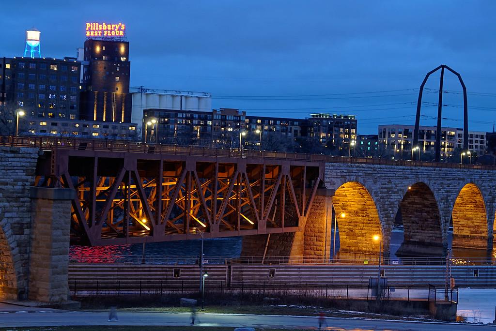 Stone Arch Bridge, Minneapolis, MN