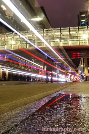 I jumped in on this Light Rail long exposure.  Minneapolis, MN