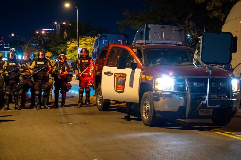 10/07/20 Minneapolis Police Fifth Precinct