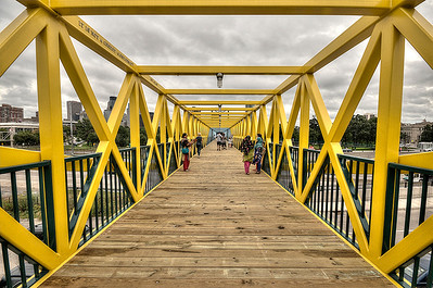 Yellow Walking Bridge