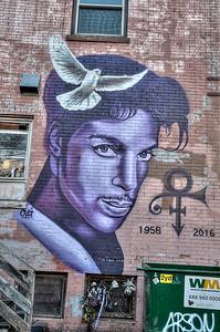 Prine mural Uptown