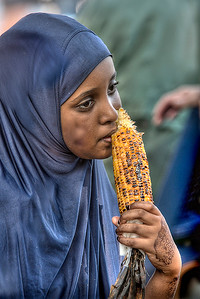 Sweetcorn Girl