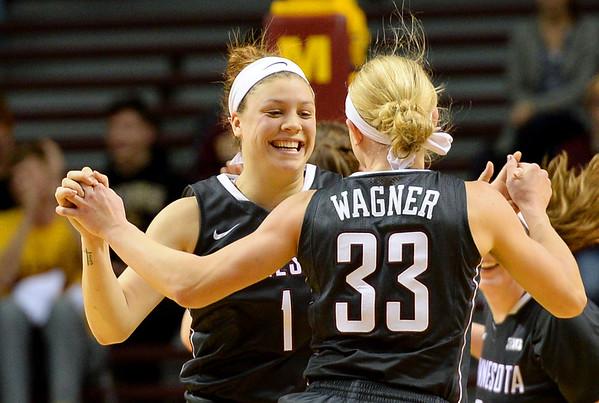Minnesota Gophers women basketball beat Northwestern , 95-92