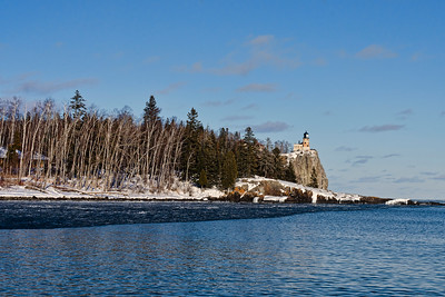 Split Rock Lighthouse Winter