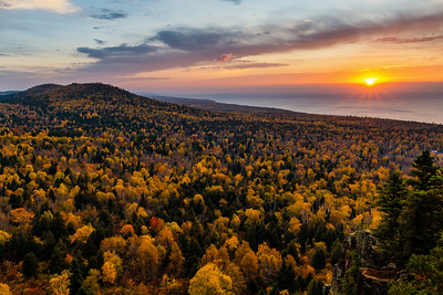 Oberg Mountain Sunrise