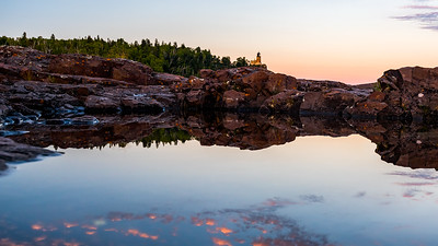 Split Rock Reflection