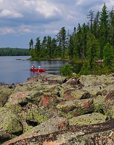 Grace Lake Portage BWCAW_PSundberg
