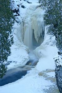 Cascade River Winter 1