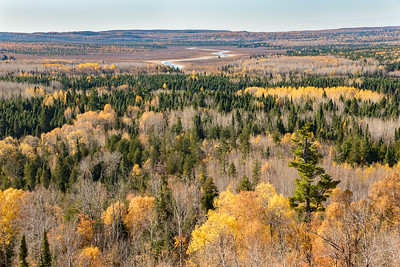 "AUTUMN 3187  ""Past peak but still beautiful!""  270 Overlook - End of the Superior Hiking Trail in Cook County, MN"