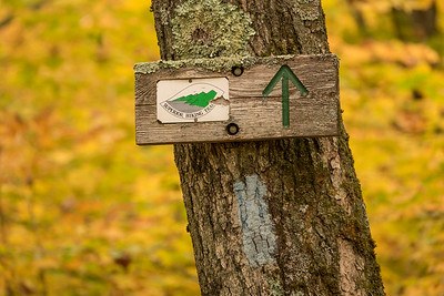 "AUTUMN 01592  ""Superior Hiking Trail Sign""  Anyone that's spent any time on the SHT will be very familiar with these signs :-)"