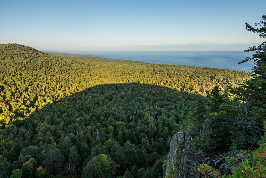 """FOREST 06044<br /> <br /> """"Oberg's Shadow""""<br /> <br /> Oberg Mountain - Lutsen, MN"""