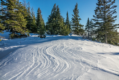 """Drift Lines, Mt. Josephine Summit"""