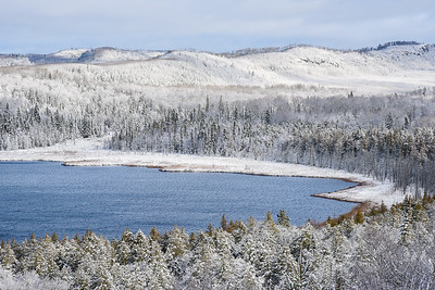 "LAKES 4266  ""First Snow at Teal Lake""  Grand Portage, MN"