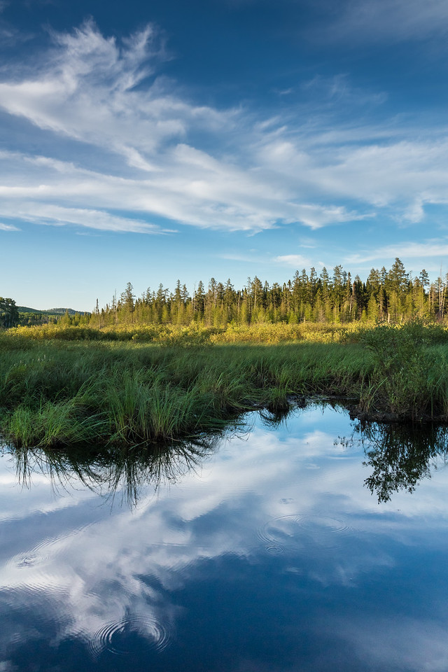 """LAKES 00672<br /> <br /> """"A Quiet Summer Evening""""<br /> <br /> Grand Portage, MN"""