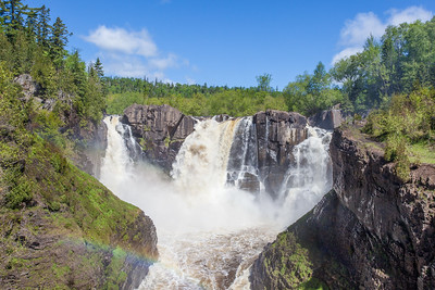 """Summer Day at High Falls"""