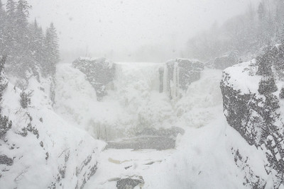 """Snow Day at High Falls!"""