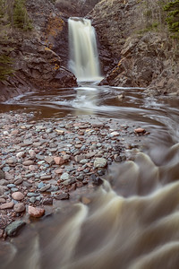 "RIVERS 03987  ""Spring on the Fall River""  Near Grand Marais, MN"