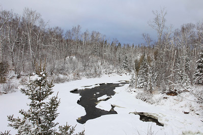 "RIVERS 3842  ""Winter on the Temperance""  Temperance River State Park, MN"