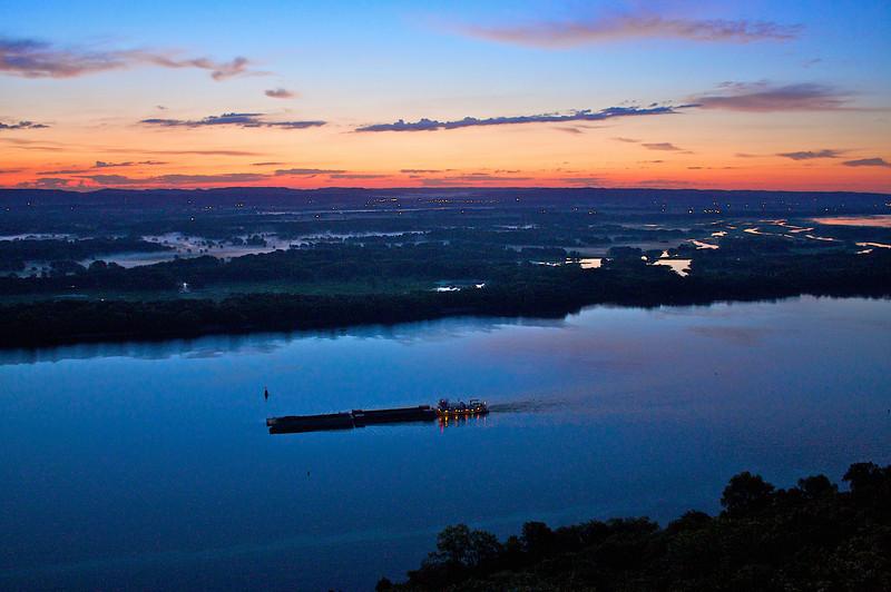 Mississippi River Daybreak.