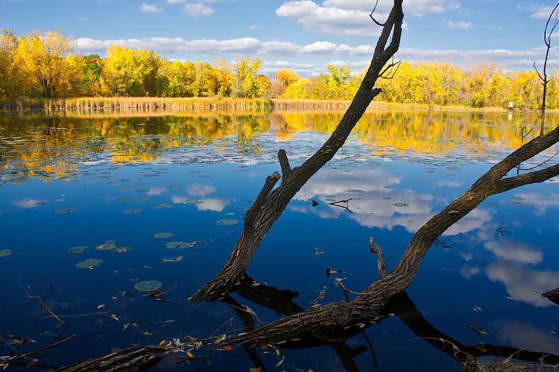 Round Lake Phalen Park St. Paul Minnesota.