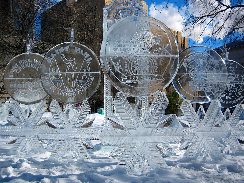 Rice Park<br /> St Paul Winter Carnival<br /> # 125<br /> 2/2011