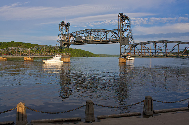 Stillwater Lift Bridge St. Criox River.