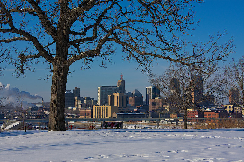 St. Paul from Indian Mounds Park.