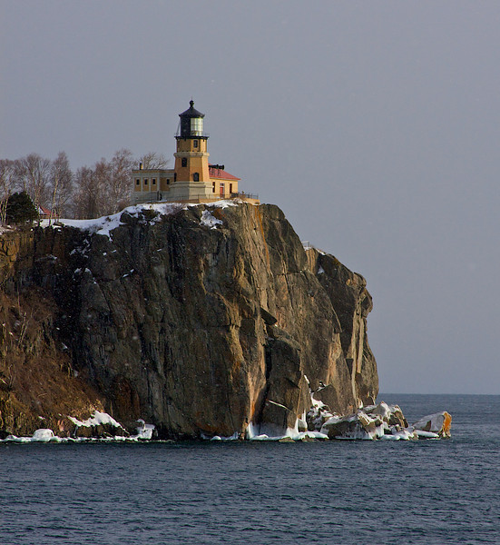 Lighthouse and fog horns.