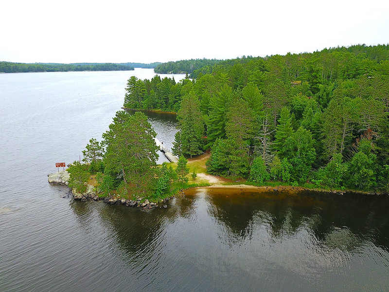 Voyageurs National Park Ash River Area Lake Kabetogama