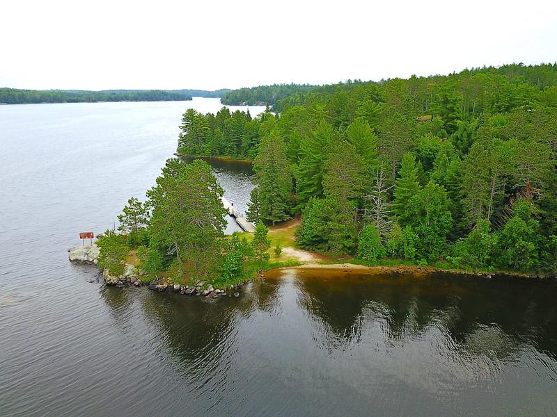 Voyageurs National Park Ash River Area Lake Kabetogama
