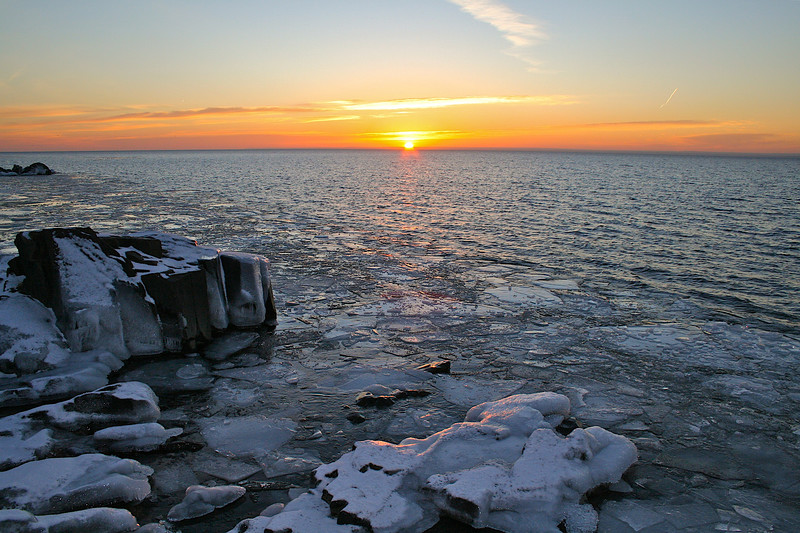 Sunrise Lake Superior