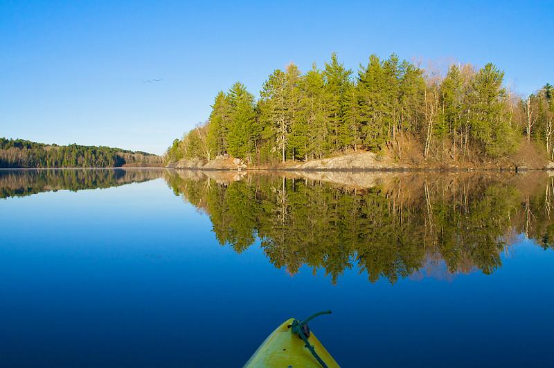 Sunrise Bass Lake Superior National Forest