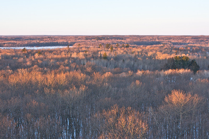 At the southwest end of Mille Lacs Lake runs the Rum River though these moraines. Sheltered from the northwest winds and with fish and game tribes fought for this spot.