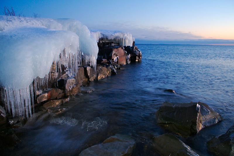 Lake Superior Shoreline.