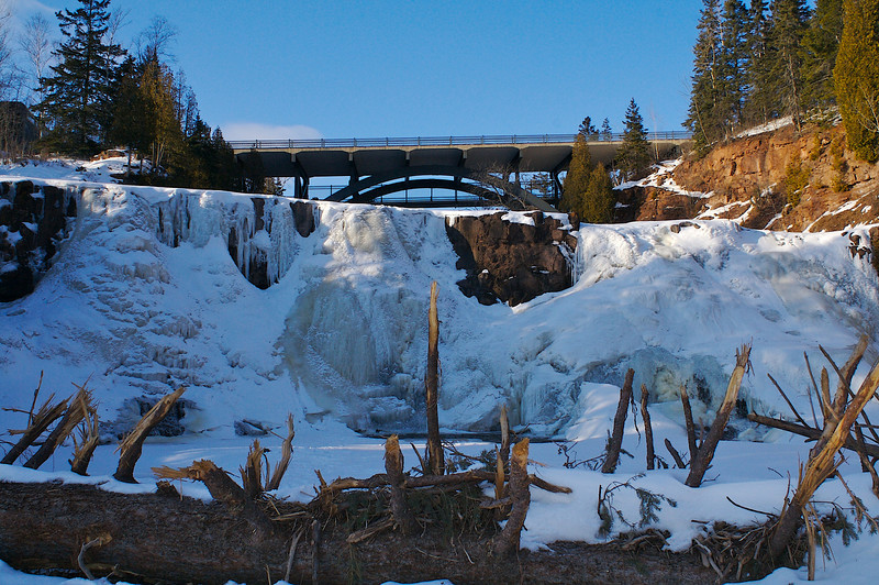 Gooseberry Falls State Park.