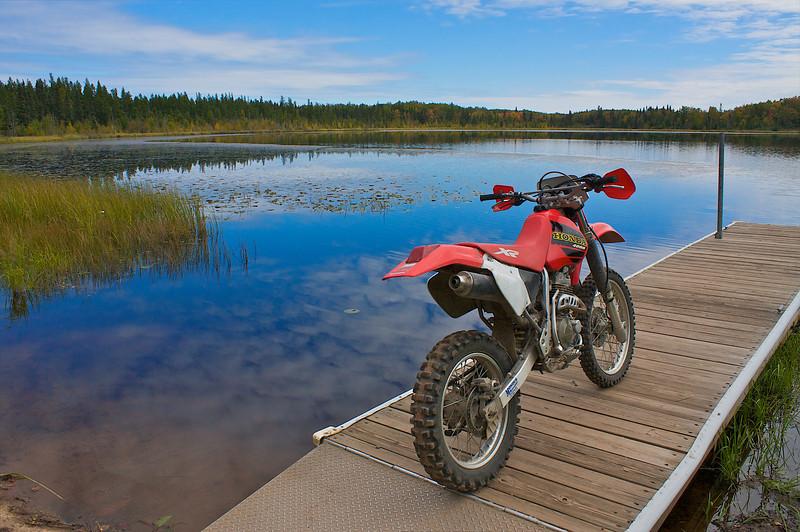 Pickerel Lake... Gafvert Camp Ground... Nemadji State Forest... MN.