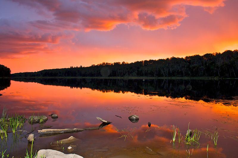 Sullivan Lake Superior National Forest MN.