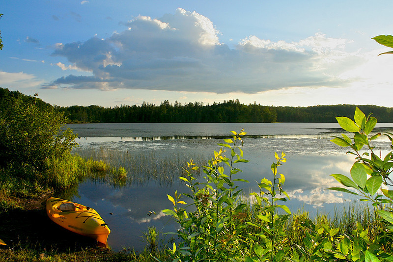 Rock Lake St. Croix State Forest MN.